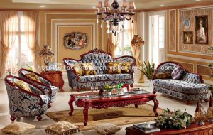 High Quality with Competitive Price Used European Furniture (TH539)