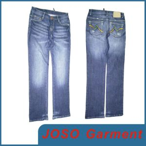 Women Personality Flare Jeans Flare Pants Flare Trousers (JC1032) pictures & photos