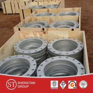 GOST Standard Stainless Steel Flanges 12820 pictures & photos