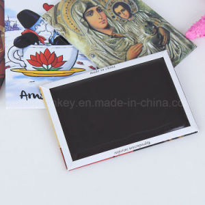 Customized Logo Printing Tin Fridge Magnet pictures & photos