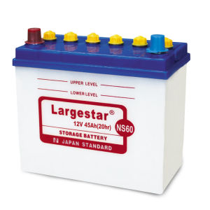 Ns60 12V45ah JIS Standard Excellent Starting Performance Auto Battery pictures & photos