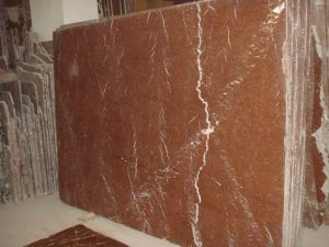 Coral Red Marble Slab pictures & photos