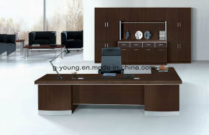 Modern Executive Wood Desk Manager Table Office Furniture pictures & photos