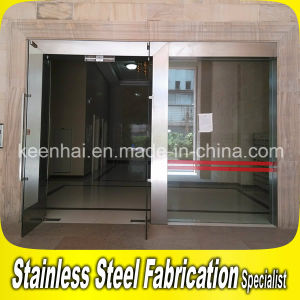 Interior Exterior Stainless Steel Glass Door pictures & photos
