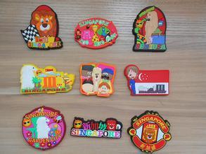 3D High Quality Customized Silicone Tourist Souvenir Fruit Soft Rubber Fridge Magnet