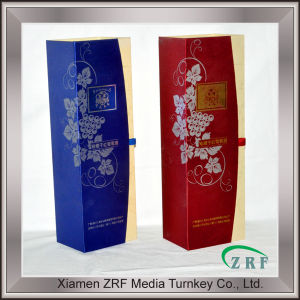 Delicate Design Paper Printed Box for Wine Packaging Service pictures & photos