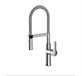 Single Lever Pull-out Sink Mixer (DH23) pictures & photos