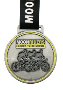 Bicycle Competition Awarding Medal