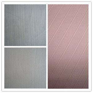 Ramie Slub Jacquard Stripe Cloth Fashion Fabric pictures & photos