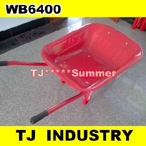 Wb6400 Wheel Barrow with 400-8 Air Wheel pictures & photos