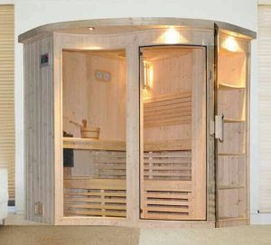 Sauna Room with Glass Door a-201 pictures & photos
