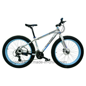 High Grade Aluminum Alloy Frame Mountain Bike Fat Tire (FP-MTB-FAT02) pictures & photos