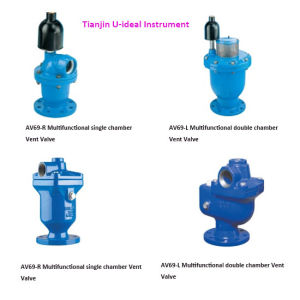 Multifunction Combination Air Valve; High-Capacity Air Release Valve pictures & photos
