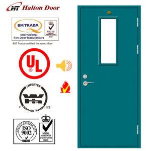 Steel Fire Door/ Fireproofing Steel Door/ Fireproof Door/with Vison Glass pictures & photos