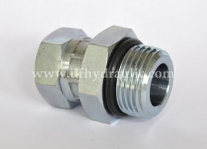 Interlock Straight NPT Thread Hydraulic Adapter pictures & photos
