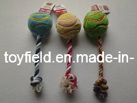 Ball Rope Dog Tug Pet Chew Dog Toy pictures & photos