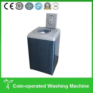 how to open a coin operated laundry machine