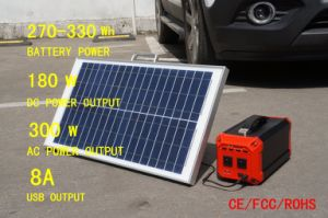 270wh Portable Solar Generator Renewable Energy Battery Storage for Home Emergency pictures & photos