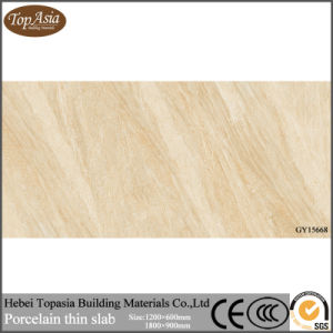Adjustable Color Thin Porcelain Tile for House Project Manufacture Customization