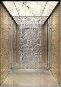Aksen Mirror Etched Passenger Elevator (K-J014)