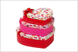 Heart Shape Jewelry / Chocolate / Cosmetic Gift Packaging Paper Box pictures & photos