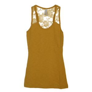 Women Fashion Garment Cotton Round Neck Sleeveless Underwear Tank Top pictures & photos