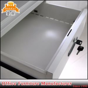 Office or School Use up Swing Glass Door Steel Filing Cabinet pictures & photos