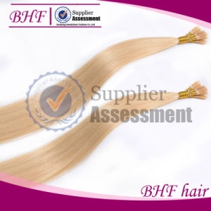 Virgin Brazilian I Tip Hair Extension Stick Hair pictures & photos