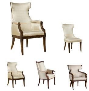 (CL-1125A) Luxury Hotel Restaurant Dining Furniture Wooden Dining Chair pictures & photos