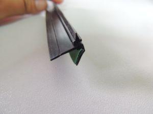 Black EPDM Seal Strip with Adhesive Tape pictures & photos