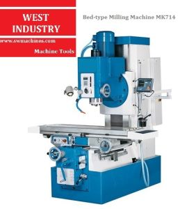 Bed-Type Milling Machine (MK714) pictures & photos