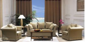 Living Room Sofa/Hotel Furniture/Hotel Wooden and Fabric Sofa/Hospitality Sofa (GL-019) pictures & photos