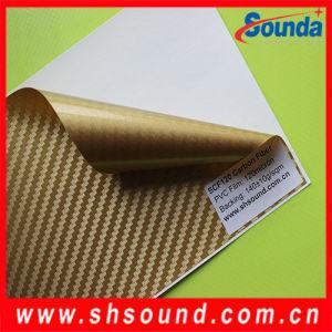 PVC Carbon Fiber Fabric. PVC Carbon Vinyl for Decoration pictures & photos