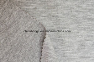 High Quality M/Sp 97/3, 160GSM, French Terry Melange Single Jersey Knitting Fabric for Casual pictures & photos