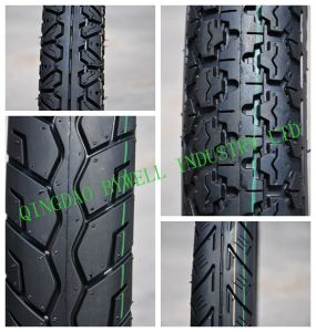 Outstanding Quality Motorcycle Tires with Various Sizes and Patterns (TVS similar pattern)