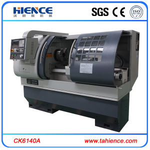 Low Cost 3 Jaws CNC Turning Machinery Lathe Ck6140A pictures & photos