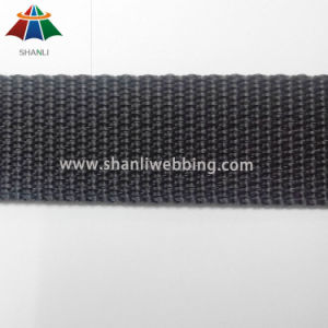 7/8 Inch Black Flat PP Webbing pictures & photos