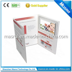 2g Memory 7inch LCD Screen Video Brochures
