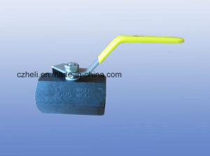 2PC Carbon Steel/Wcb Ball Valve Manufacture pictures & photos