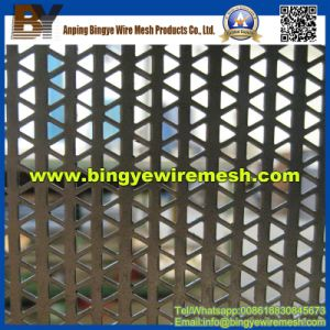 Triangle Perforated Metal Mesh Used in Cladding pictures & photos