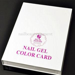 Nails Art Gel Polish Color Display Book Salon Color Chart (M28) pictures & photos
