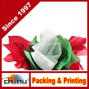 Red, Green & White Christmas Tissue Paper (510048) pictures & photos
