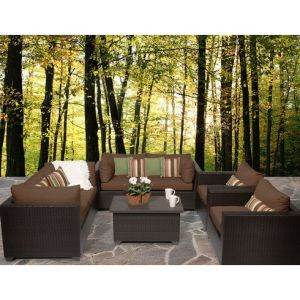 Well Furnir Rattan 7 Piece Deep Seating Group with Cushion WF-17047 pictures & photos