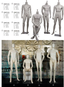 Full Body Grey Male Mannequins, Headless White Male Mannequins pictures & photos