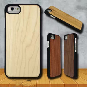 Natural Pine Wood+PC Case for iPhone 7 Cases Samsung S7/6 Case pictures & photos