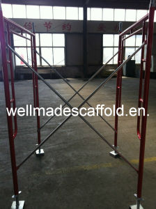 Steel Scaffolding Main Frame Scaffold (1219X1700mm) pictures & photos