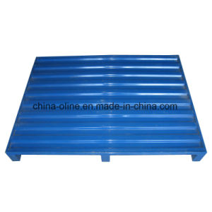 Steel Metal Mesh Pallet Match with Lifts pictures & photos