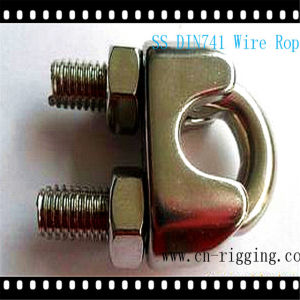 Stainless Steel DIN741 Wire Rope Clamp for Rope Loop pictures & photos