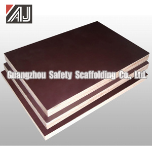 Scaffolding Filmed Plywood, Guangzhou Manufacturer pictures & photos