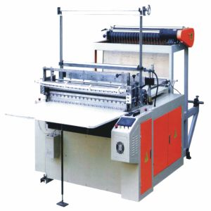 Computer Control Winened Plastic Film Bag Making Machine (WQ-DF1200-1700W) pictures & photos